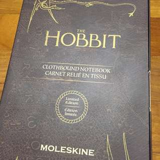 The Hobbit Limited Edition Moleskin Notebook