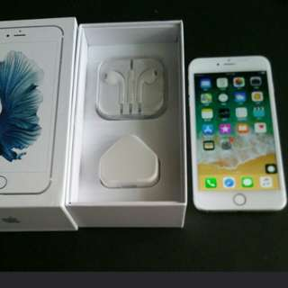 """99% sliver colour iPhone 6s plus 128gb, Hong Kong zp version,  full set with box.  5.5"""" original, like new, 100% working & good battery, full set new accessories, 7 days warranty.   5.5寸99% 新無花,港行zp, 100%全正常及電池良好"""