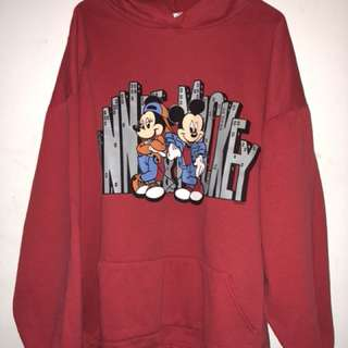 vintage Mickey Mouse hoody sweater