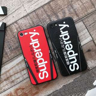 Superdry iPhone X Case iPhone 8 7 6 Plus Cover Streetwear