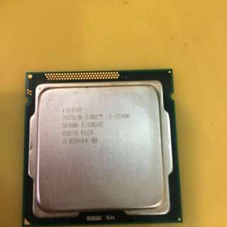 i5-2500K CUP+中央處理器送H61M-HVS主機板