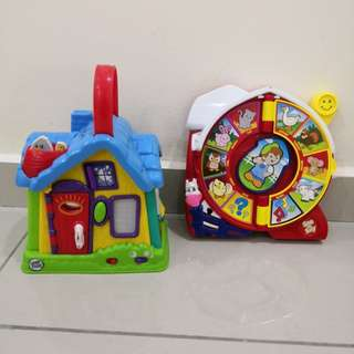 Leap Frog Fisher Price toys