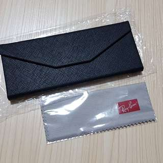 Foldable glasses case