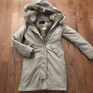 BABATON (aritzia) faux fur winter coat