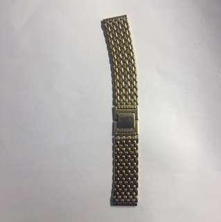 Seiko包金錶带5吋半
