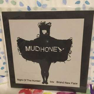 "Mudhoney - hunted - 7"" vinyl record single - grunge era"