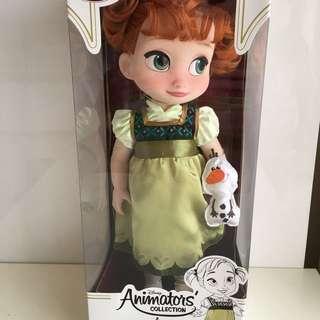 Original Disney Animator Collection Anna Doll