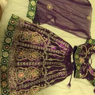 Indian dancing dress/ traditional dress