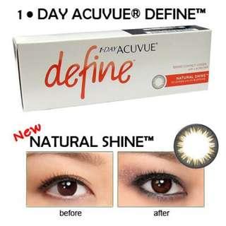 BINB 1 Day Acuvue Define (Natural Shine)