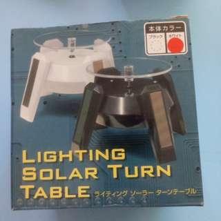 Lighting Solar Turn Table