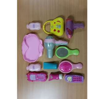 Lot of 12 pcs of Girls Toys