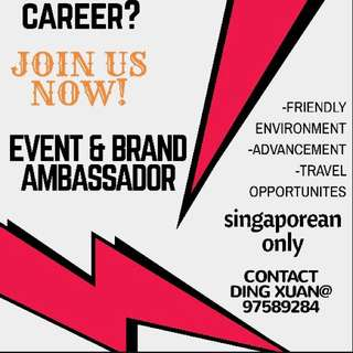 Event / Brand Ambassador:):)