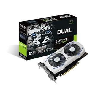 Asus Dual GTX 1050 2GB OC (Limited)