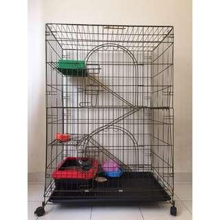 Pet Cage (3 Tier)
