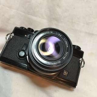 OLYMPUS OM-1n & 28mm lens