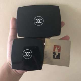 Authentic chanel lip kit+ YSL blush