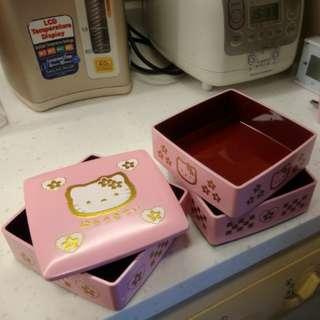 Hello kitty 飾物盒 過年全盒