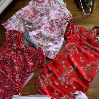 Chinese New Year Girls Dress