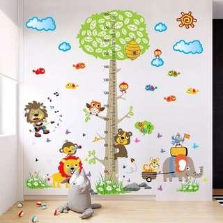 Little Height Chart Wall Sticker
