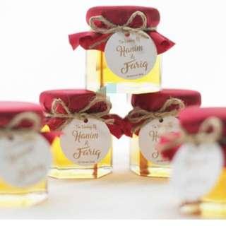 Honey/Fruit Jam in a Jar