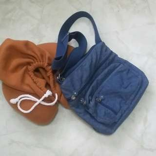 Cose Bag with Travel Pillow