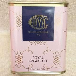 Cova Royal Breakfast finest leaf tea 100gm, best before 11/12/2018, 全新