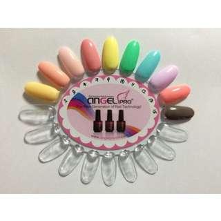 Angelpro gelish organic gel nail polish
