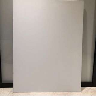 White painting canvas