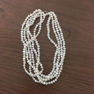Pearl necklace 4 strands