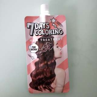 Missha 7 days hair coloring treatment (Pink Brown)