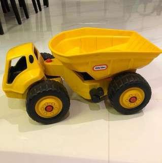 Little Tikes dumpster toy truck