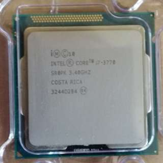 Intel® Core™ i7-3770 Processor 8M Cache, up to 3.90 GHz..For LGA 1155