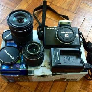 Olympus Pen EPL3 camera