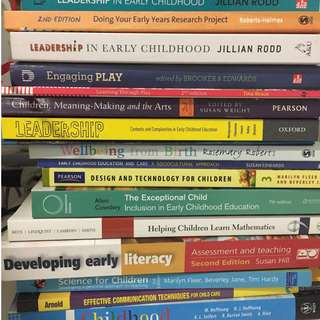 Early Childhood Used But New Textbooks