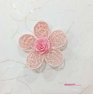 Quilling Paper Flower - Valentines Day