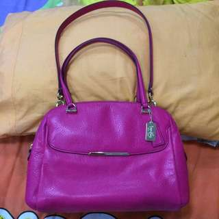REPRICED!! Authentic Coach 2way Bag Luxury Ed