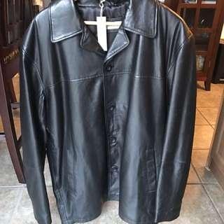 Prime Leather Company Leather Jacket Size L