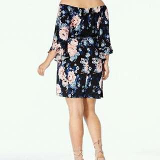 Plus size dress ( chiffon )