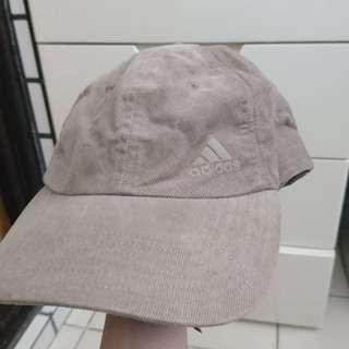 🚚 9.9成新 adidas麂皮棒球帽