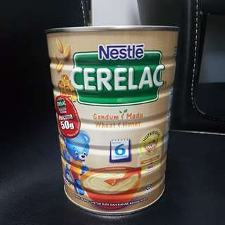Nestle Cerelac Wheat & Honey (6months)