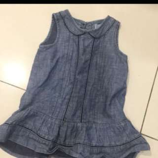 Authentic baby Gal denim dress