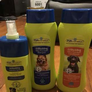 FURminator Deshedding Shampoo/Conditioner