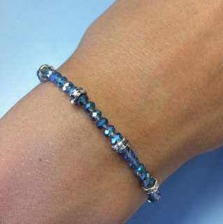 Mimco Blue and Gold Bracelet