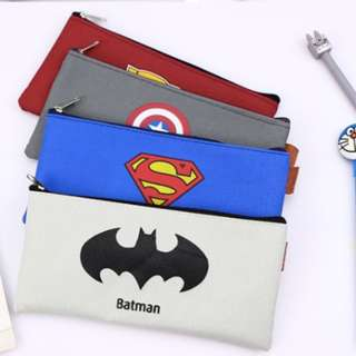 POUCH Superheroes Edition