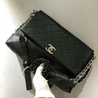 Chanel Timeless Black Bag Caviar