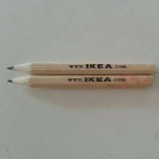 Ikea pencil two for $0.10