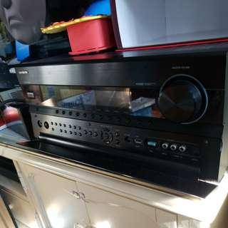100% work ONKYO a.c. receiver TX-NR808