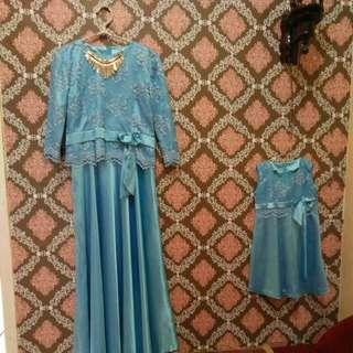 baju dress ibu dan anak