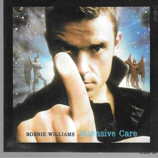 MY CD - ROBBIE WILLIAMS - INTENSIVE CARE /// FREE DELIVERY