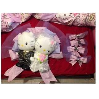 婚後物資 - Hello Kitty 花車公仔 連花車佈置, V帶